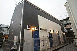 神奈川県川崎市多摩区生田5の賃貸アパートの外観