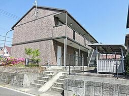滋賀県湖南市菩提寺東2丁目の賃貸アパートの外観