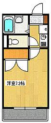 インペリアル湘南II[2階]の間取り