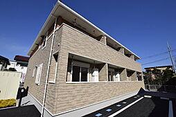 栃木県宇都宮市陽南3丁目の賃貸アパートの外観