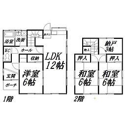 [一戸建] 静岡県浜松市中区蜆塚4丁目 の賃貸【/】の間取り