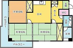 グッタープラッツ緑ヶ丘1番館[203号室]の外観