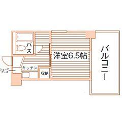 ジョイフル鶴舞[7階]の間取り