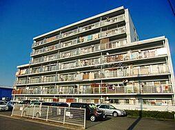 岡山県岡山市中区神下の賃貸マンションの外観