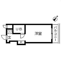 TOP・成増第3[0503号室]の間取り