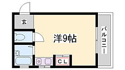 Bee1マンション[3階]の間取り