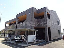 香川県高松市香川町大野の賃貸マンションの外観