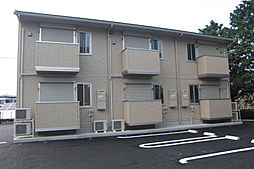 栃木県栃木市国府町の賃貸アパートの外観