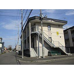 北海道苫小牧市末広町1丁目の賃貸アパートの外観