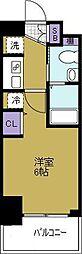クリスタルグランツ大阪センターSt.[2階]の間取り