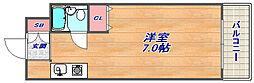 兵庫県神戸市灘区鹿ノ下通1丁目の賃貸マンションの間取り