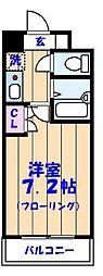 CBレジデンス行徳[2階]の間取り