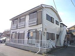 埼玉県川越市稲荷町の賃貸アパートの外観