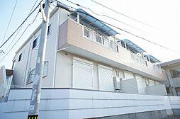 福岡県古賀市日吉3の賃貸アパートの外観