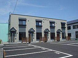 北海道滝川市緑町2丁目の賃貸アパートの外観