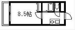 エース弐番館[2階]の間取り