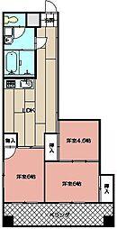 ル・ポールマンション[5階]の間取り