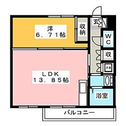 光第1ビル[1階]の間取り