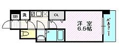 レジュールアッシュ京橋クロス2[11階]の間取り