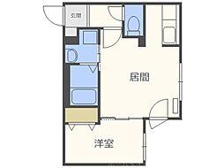仮称)北5西13MS B棟[1階]の間取り