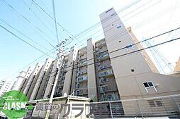 八戸ノ里グランドマンションA棟[4階]の外観