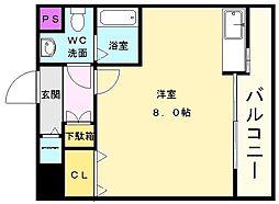 ライフデザイン新金岡B棟[3階]の間取り