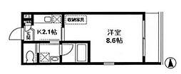 メゾン215[1階]の間取り