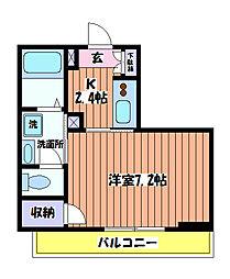 リーヴル[3階]の間取り