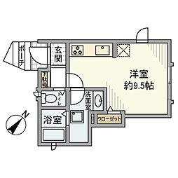 [一戸建] 東京都品川区東五反田1丁目 の賃貸【/】の間取り