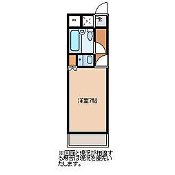 坂戸ダイカンプラザシティI[105号室]の間取り