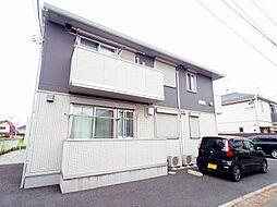 東京都小平市上水新町2丁目の賃貸アパートの外観