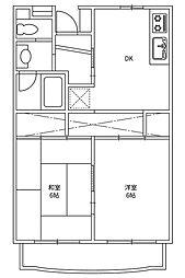 メゾン・ド・ピアII[3階]の間取り