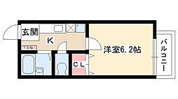 いづみコーポ[202号室]の間取り