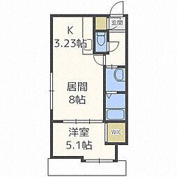 北海道札幌市中央区南一条西10丁目の賃貸マンションの間取り