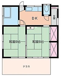 [一戸建] 神奈川県座間市西栗原2丁目 の賃貸【/】の間取り