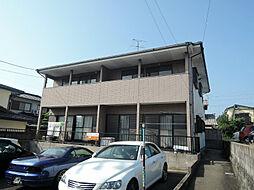 福岡県中間市太賀4丁目の賃貸アパートの外観