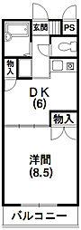ローゼンハイム[3階]の間取り