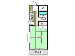 サンライフ伊川谷[2階]の間取り