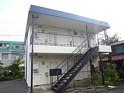 東京都武蔵村山市岸3丁目の賃貸アパートの外観