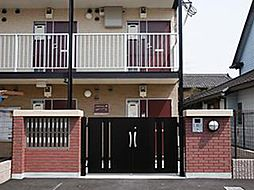 兵庫県加古川市加古川町南備後の賃貸アパートの外観