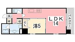 ELNIDO-FUKUZAWA[702号室]の間取り