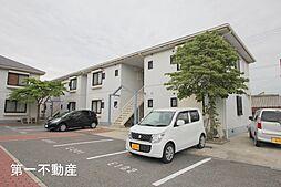 兵庫県西脇市野村町の賃貸アパートの外観
