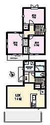 [一戸建] 茨城県つくば市上境春風台 の賃貸【茨城県 / つくば市】の間取り