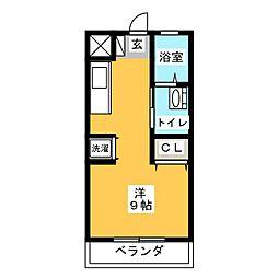 小林ビル[4階]の間取り
