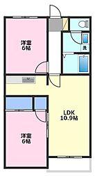 エトワール マンション[3階]の間取り