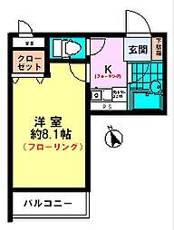 ライオンズマンション八王子第6[5階]の間取り