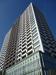 外観(外観/総戸数413戸、27階建タワー型分譲/24時間有人管理)