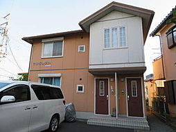 静岡県静岡市清水区由比北田の賃貸アパートの外観
