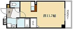 クラール・TY[2階]の間取り