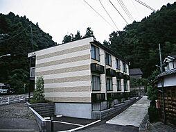 東京都青梅市森下町の賃貸アパートの外観